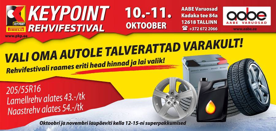Pirelli Key Point rehvifestival